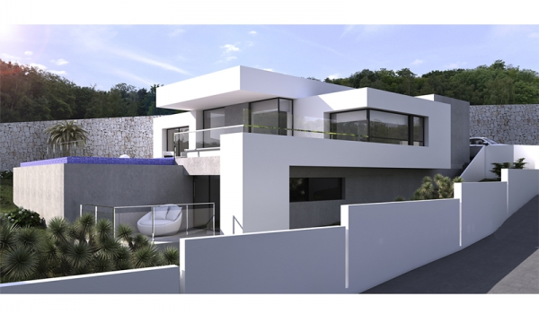 Villas - New Builds - Moraira - Solpark