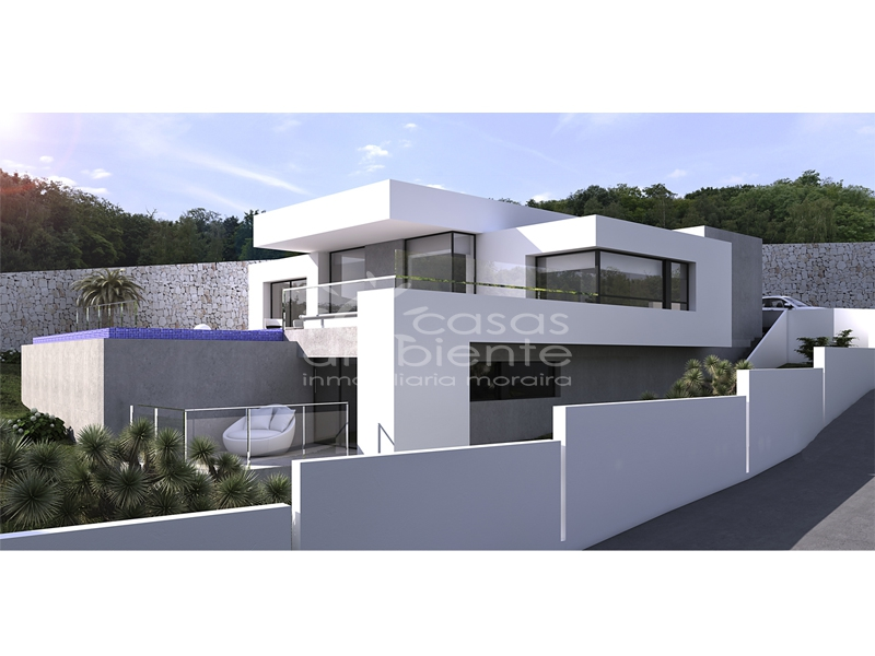 New Builds - Villas - Moraira - Solpark