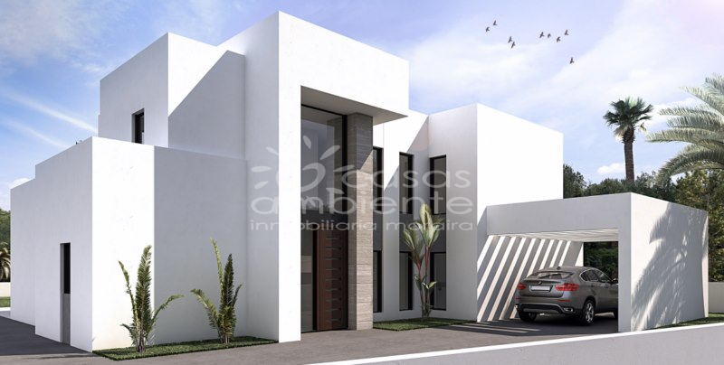 New Builds - Villa - Moraira - Solpark