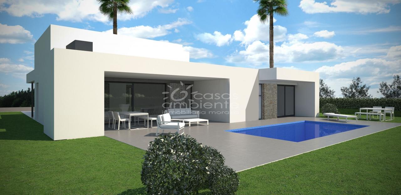 design villa moderne. Black Bedroom Furniture Sets. Home Design Ideas