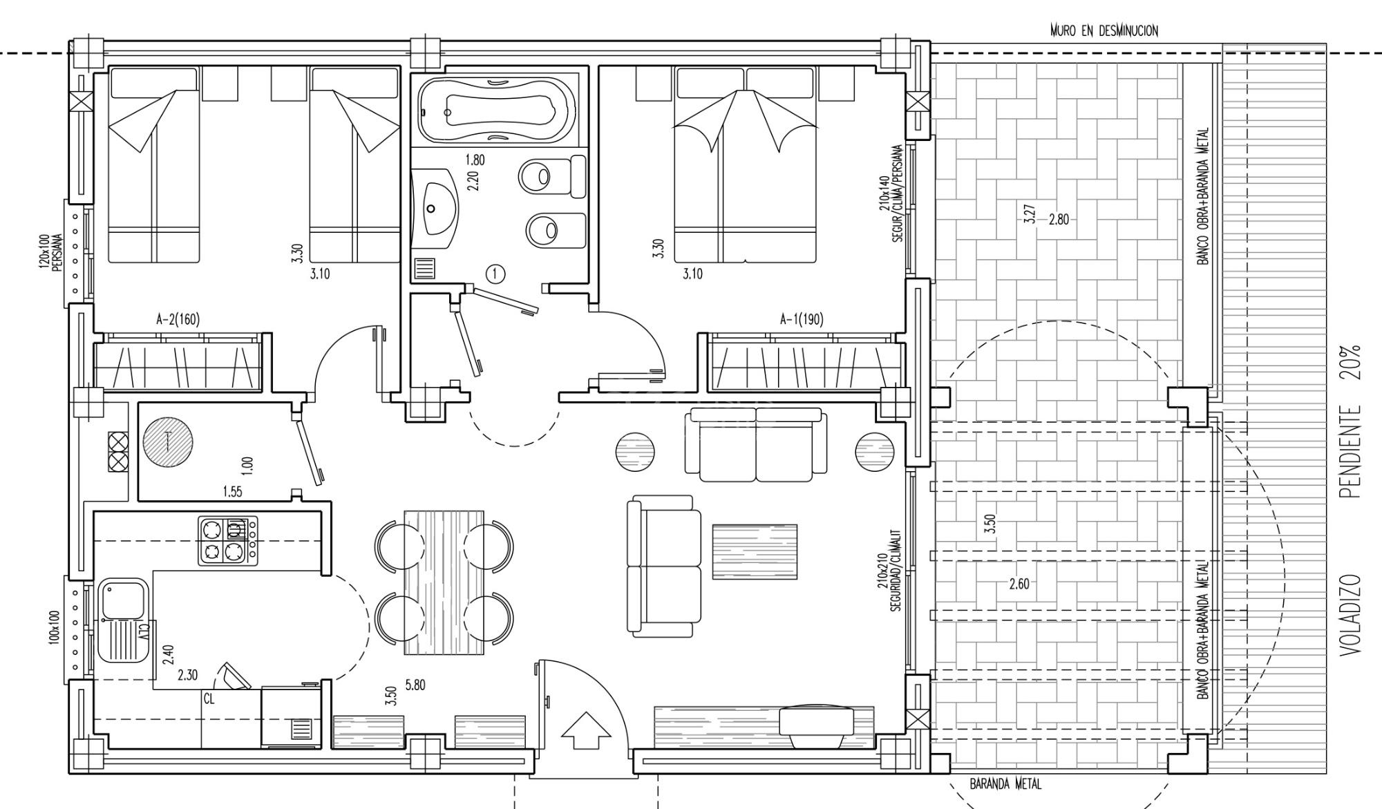 neue wohnung in benitachell cumbre del sol. Black Bedroom Furniture Sets. Home Design Ideas