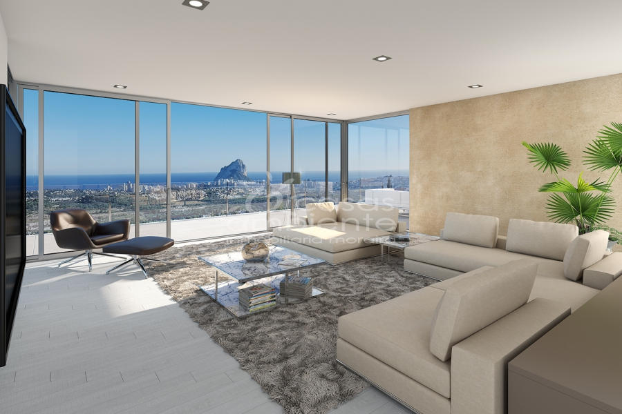 New Builds - Villas - Calpe - Calpe Town Centre