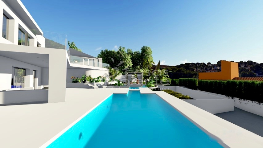 New Builds - Villa - Moraira - La Sabatera