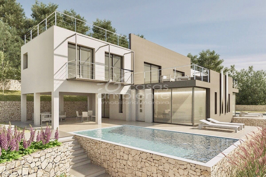 New Builds - Villa - Moraira - Benimeit