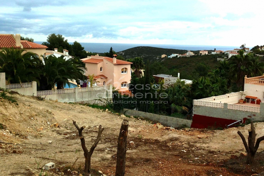 Resales - Plot of Land - Benitachell - La Cumbre del Sol