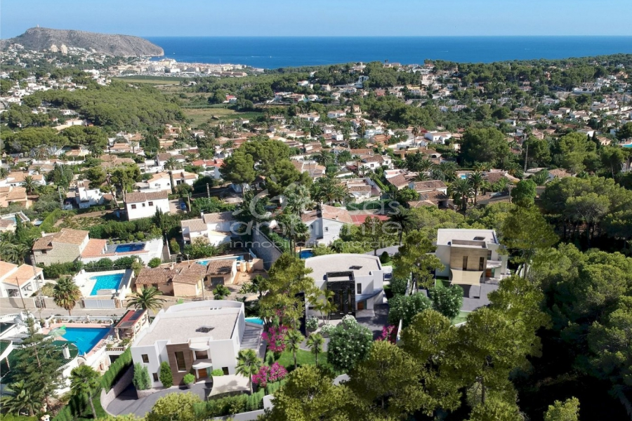 New Builds - Villas - Moraira - Benimeit